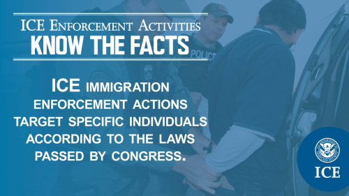 ICE Enforcement Activities - Know the Facts