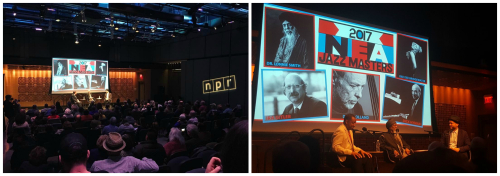 NPR Listening Party Collage