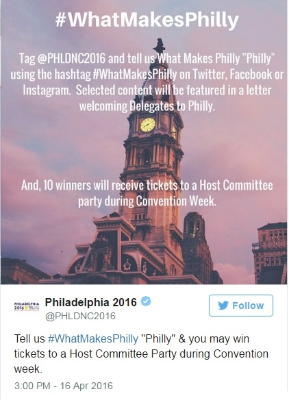 #WhatMakesPhilly Campaign Announced