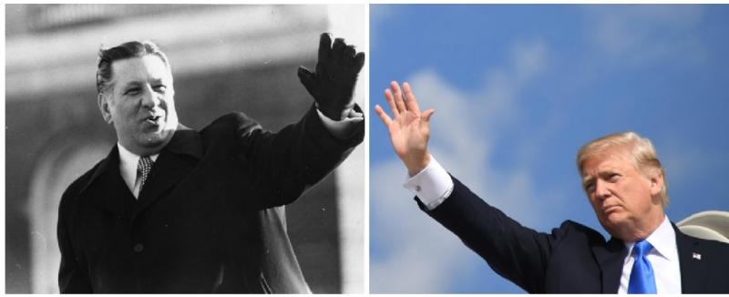Rizzo - Trump Waving
