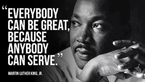 MLK - Everyone Can Be Great