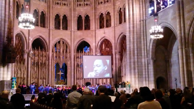 MLK Tribute - Riverside Church NYC