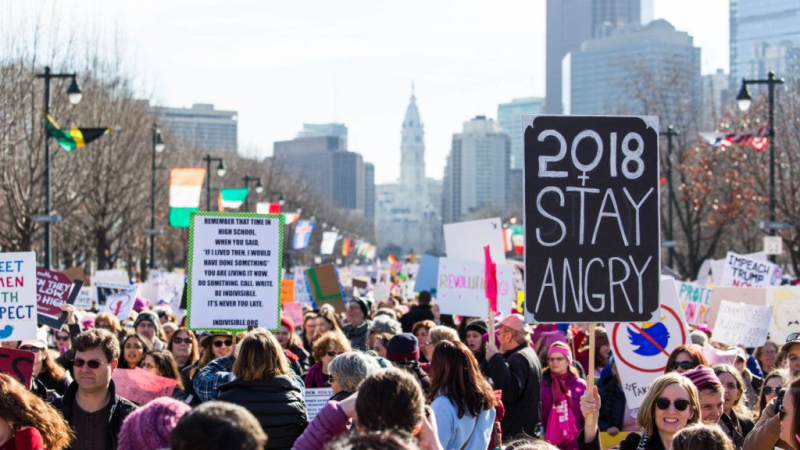 Women's March Philly