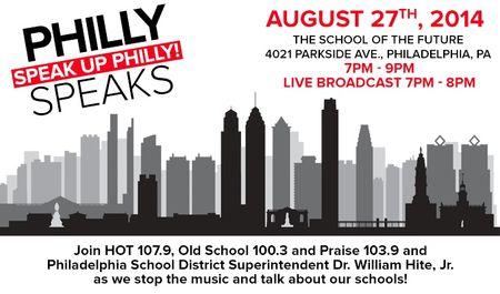 Philly Speaks - 8.27.14