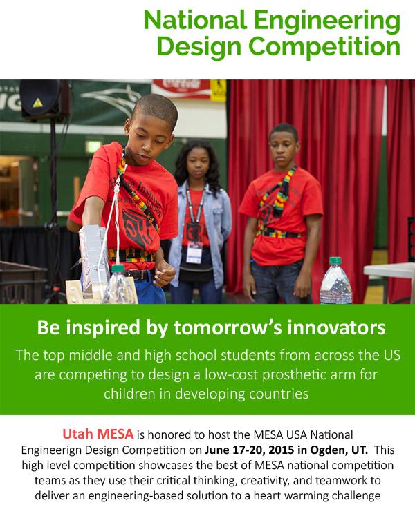 MESA Design Competition - 6.15.15