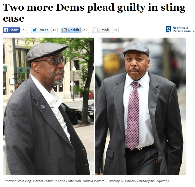 Two More Dems Plead Guity