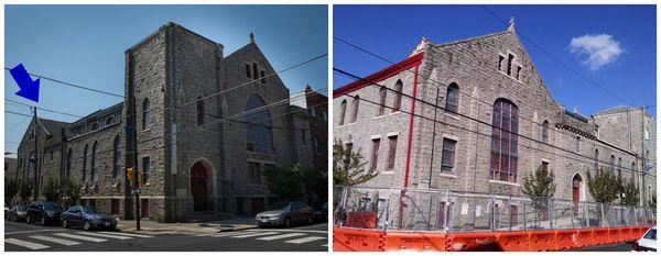 First Africa Baptist Church Collage - Arrow