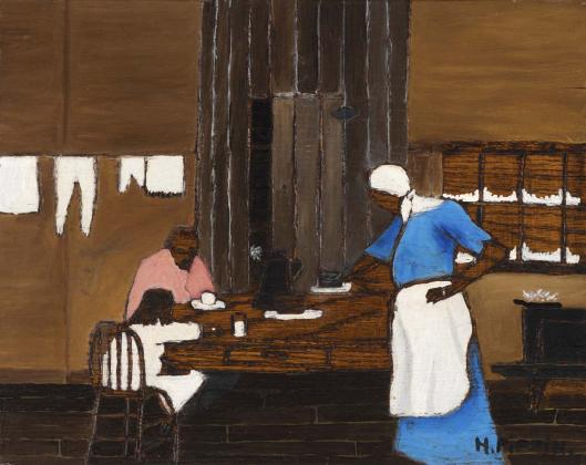 Horace Pippin - Supper Time