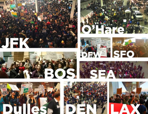 Airport Protests