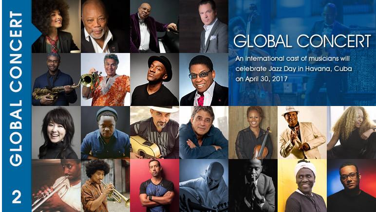 Global Concert  2017 Lineup  Havana Cuba