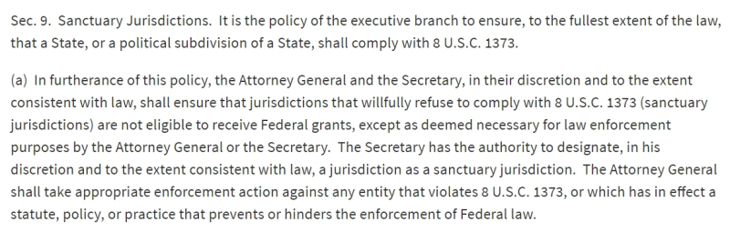 Section 9a of Executive Order