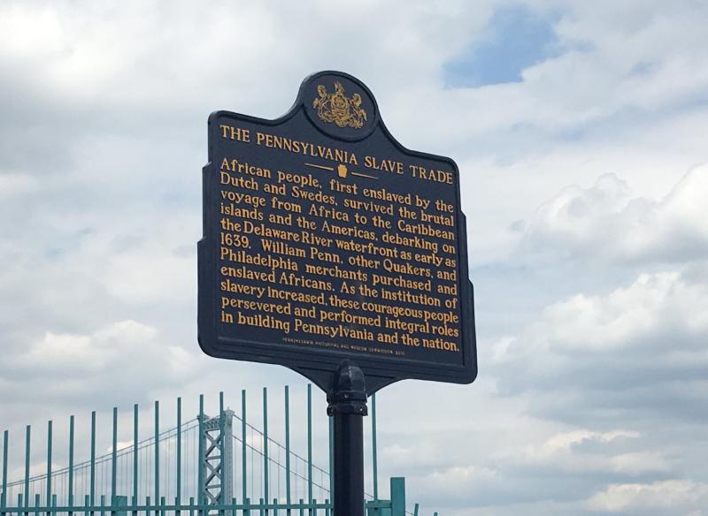 PA Slave Trade Marker