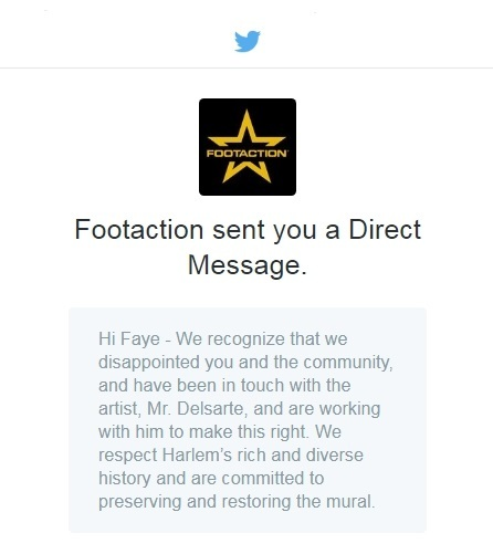 Footaction - Direct Message - 12.12.17