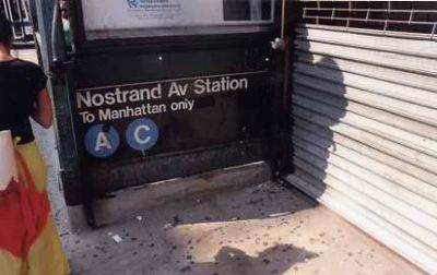 A Train - Nostrand Avenue