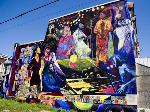 Women of Jazz Mural