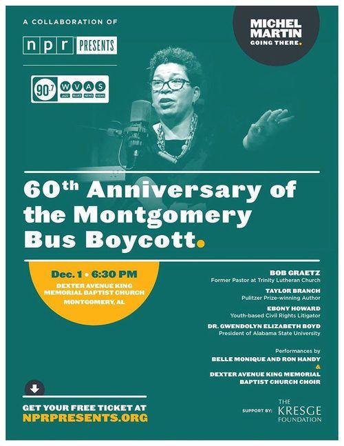 Montgomery Bus Boycott Event