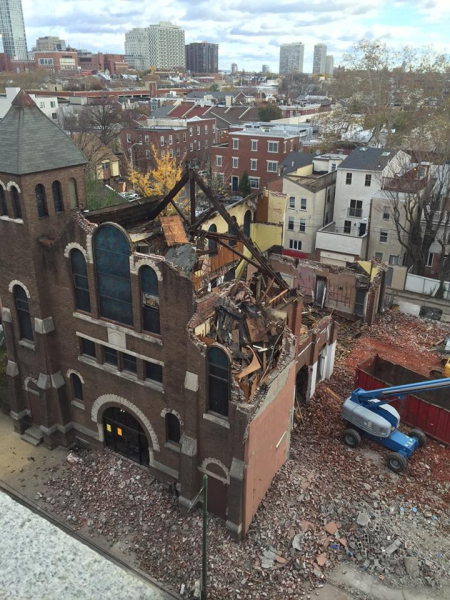 Marian Anderson Church Demolished