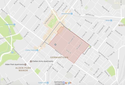 Penn Knox Neighborhood Map