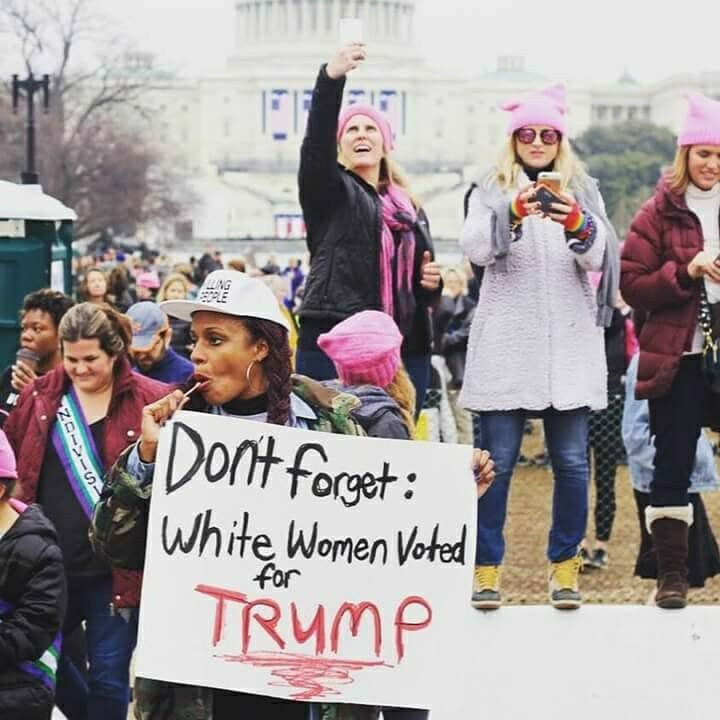 Don't Forget White Women Voted for Trump