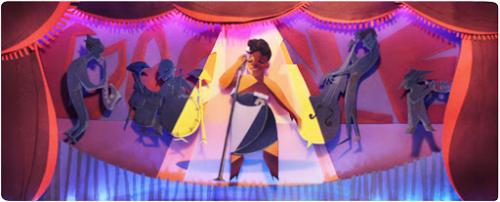Google Doodle - Ella Fitzgerald