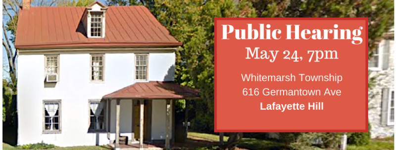 Whitemarsh Township Board of Supervisors Meeting - May 24  2018