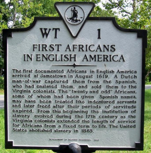 #400YearsOfAfricanAmericanHistory - August 20  1619