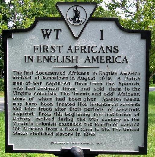 #400YearsOfAfricanAmericanHistory - August 20  1619