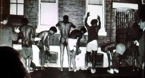 Black Panthners Forced to Strip - August 31  1970