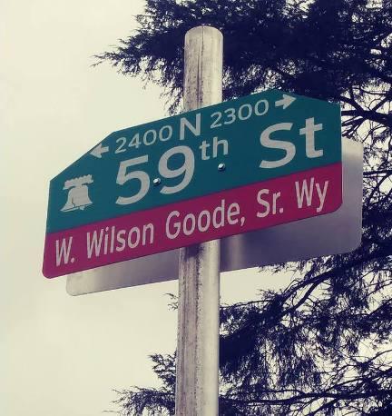 Wilson Goode Way Sign