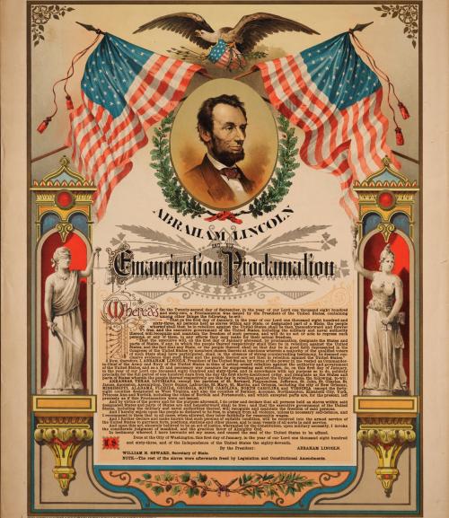 Emancipation Proclamation - Jan. 1  1863