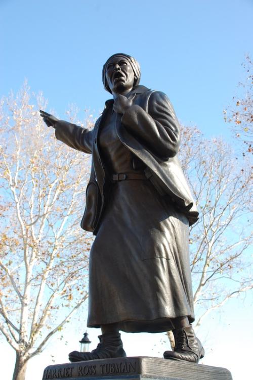 Harriet Tubman Memorial Monument  Bristol  PA