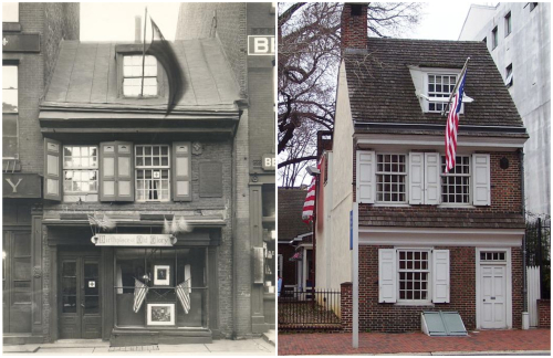Betsy Ross House Collage