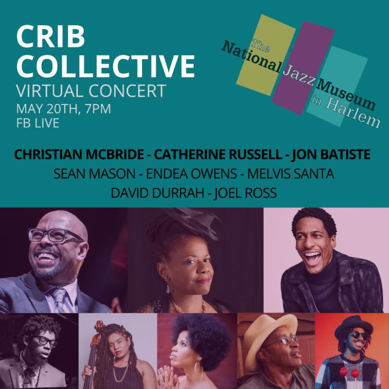 National Jazz Museum CRIB Collective Virtual Concert