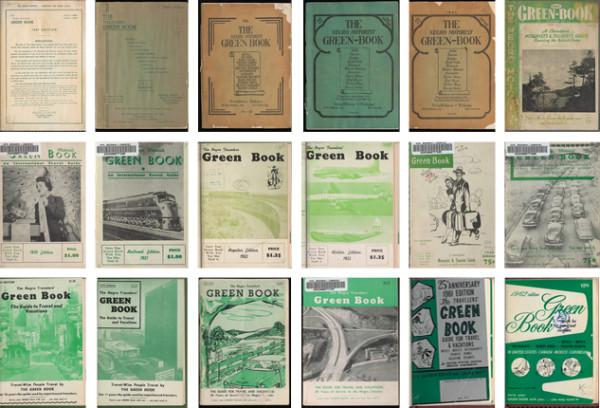 #GreenBookPHL Collage