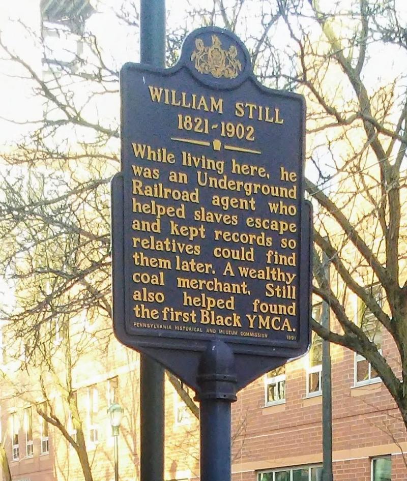 William Still Historical Marker