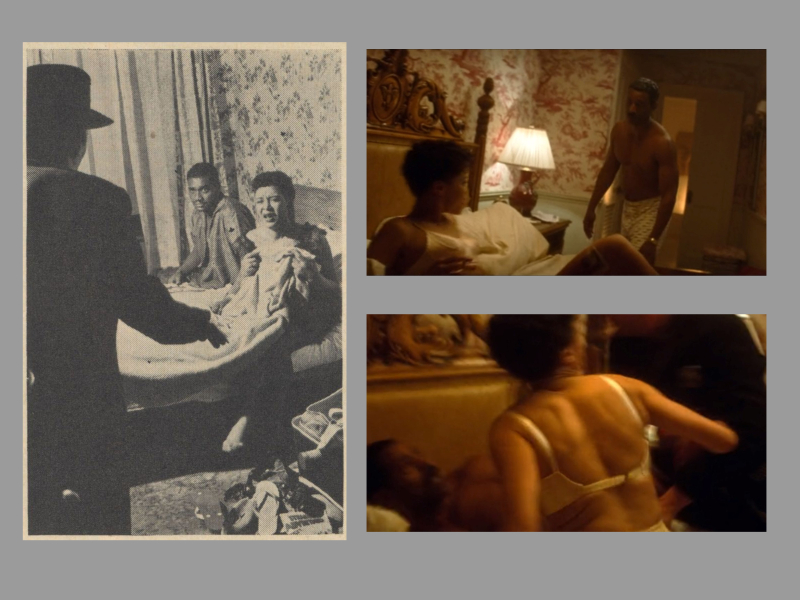 Radnor Hotel Collage - Billie Holiday and Louis McKay2