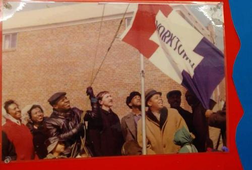 Yorktown Flag - Charles Bowser - July 11  2021