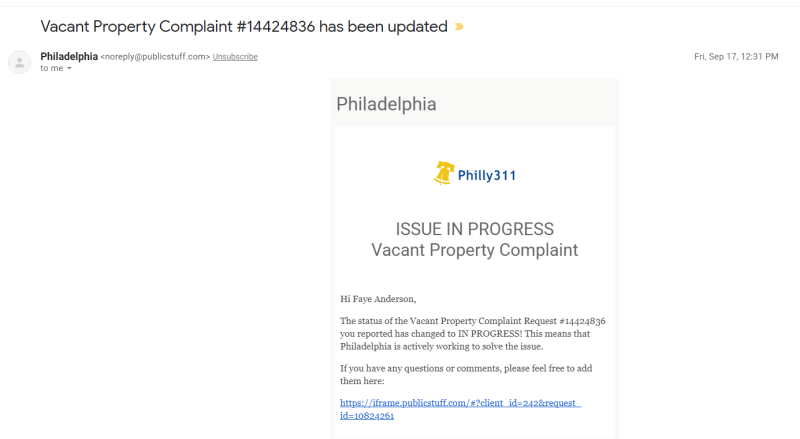 John Coltrane House - 1509 N 33rd Street - Vacant Property Complaint