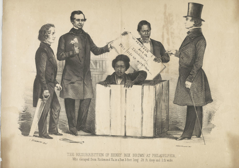 The resurrection of Henry Box Brown at Philadelphia - Library Company of Philadelphia