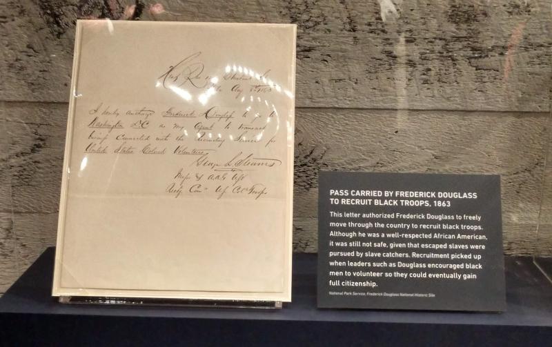Frederick Douglass Pass - Sign