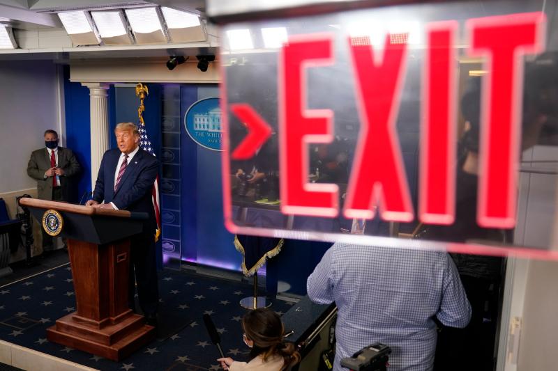 Donald Trump - Exit Sign