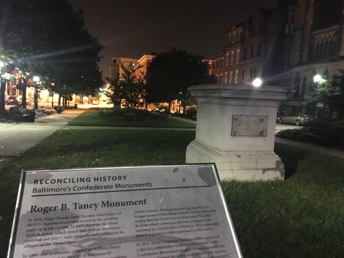 Robert B. Taney Monument - Baltimore