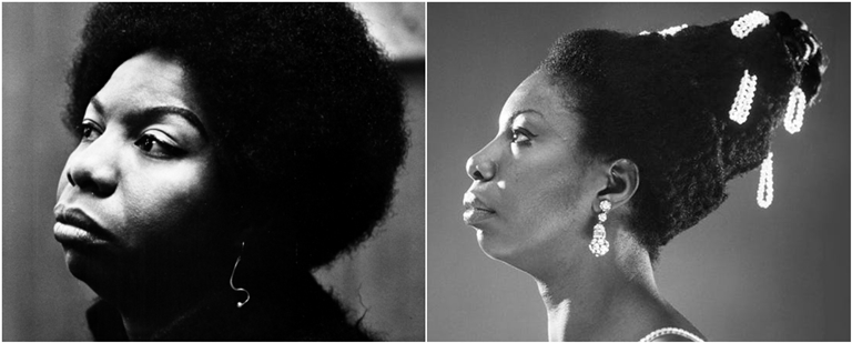 Nina Simone Collage
