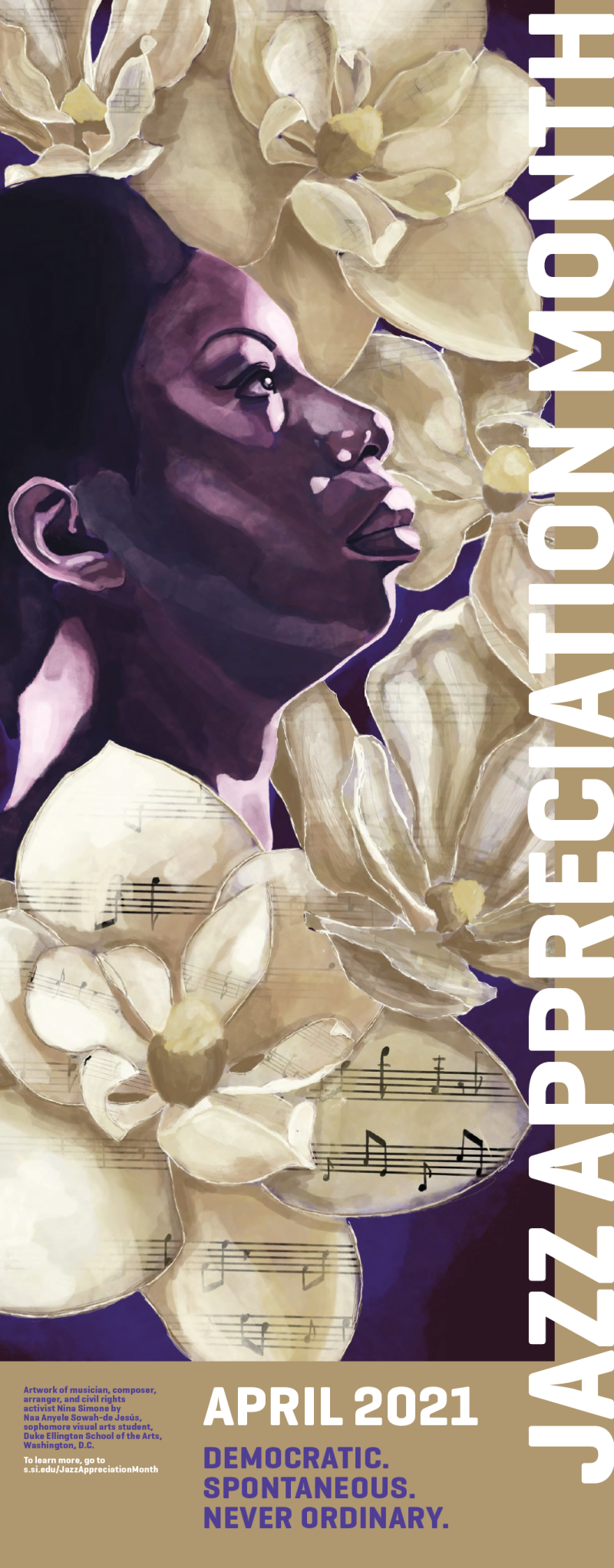 2021 JAM Poster - Nina Simone