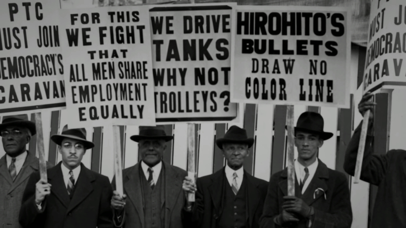 Carolyn Davenport Moore - PTC Protest Signs - We Drive Tanks