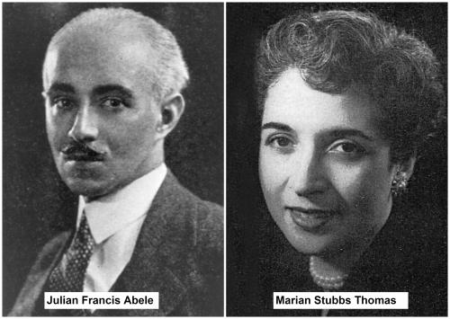 Julian Francis Abele - Marian Stubbs Thomas Collage