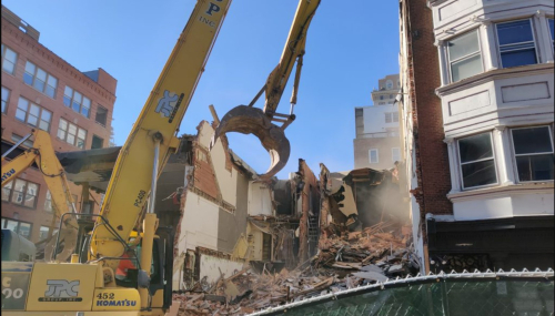 204 S 12th St Demolition - February 2  2021