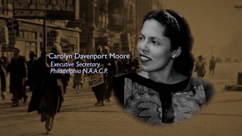 Carolyn Davenport Moore - Executive Secretary Philadelphia NAACP