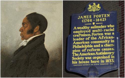James Forten Collage
