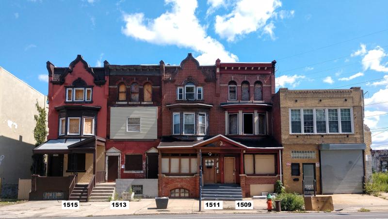 John Coltrane Row - House Numbers